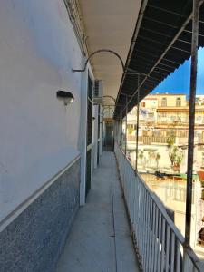 A balcony or terrace at Residenza Napoli Centro