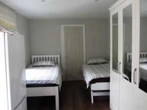 A bed or beds in a room at Studio