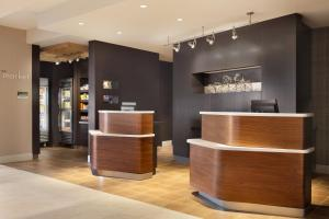 The lobby or reception area at Courtyard by Marriott Boston Dedham/Westwood