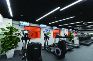 The fitness center and/or fitness facilities at The Presidential Beijing