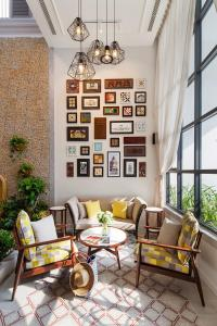 The lobby or reception area at Maison De Camille Boutique Hotel
