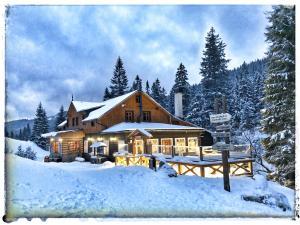 Bouda Pod Sněžkou im Winter