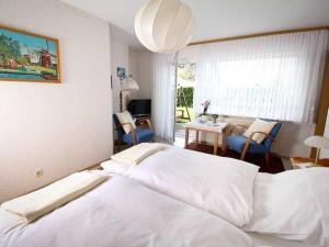Postel nebo postele na pokoji v ubytování Ferienwohnung Nain