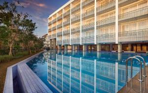 The swimming pool at or near The Sintesa Jimbaran Bali