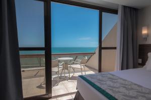 A balcony or terrace at Wish Natal
