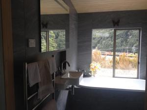 A bathroom at The Nook