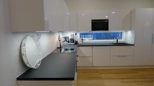 A kitchen or kitchenette at Villa Arctic Light