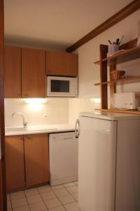 A kitchen or kitchenette at Diamant