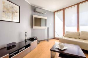Część wypoczynkowa w obiekcie Cracow City Apartments Verona