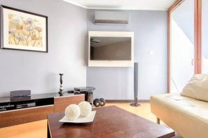 Kuchnia lub aneks kuchenny w obiekcie Cracow City Apartments Verona