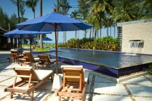 The swimming pool at or near Khaolak Blue Lagoon Resort
