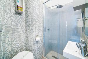 A bathroom at Studio Flat Ponte Vecchio