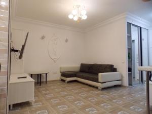 A seating area at Апартаменты люкс на Носовыхинском шоссе