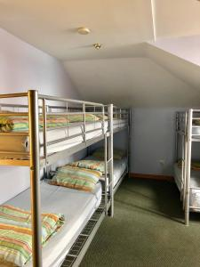 A bunk bed or bunk beds in a room at Narrara Backpackers Hobart