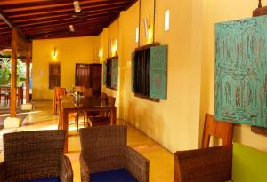 """A seating area at Dickman Resort """"The Boutique Hotel"""""""