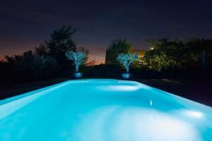 Der Swimmingpool an oder in der Nähe von Hotel Garni Schöne Aussichten