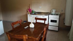 Una cocina o kitchenette en Kalenshen