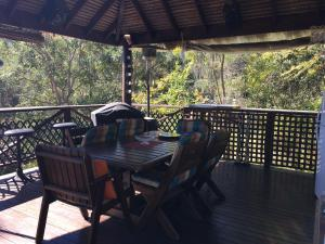 A balcony or terrace at Hinterland Hideaway