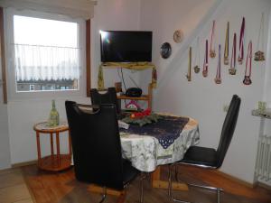 TV/Unterhaltungsangebot in der Unterkunft Appartement Kanew