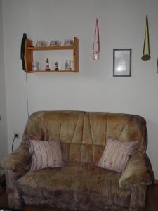 Ein Sitzbereich in der Unterkunft Appartement Kanew