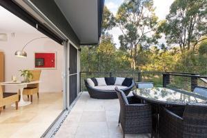 A balcony or terrace at Deja Vu Estate