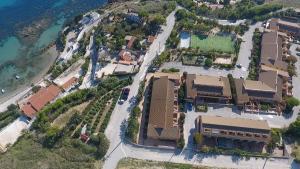Vista aerea di Baiarenella Residence