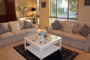 A seating area at Amberwood