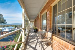 A balcony or terrace at Commercial Golf Resort