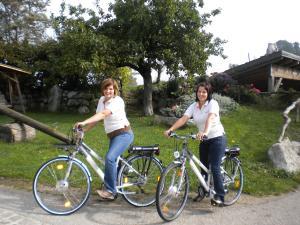 Radfahren an der Unterkunft Biohof Ebenbauer oder in der Nähe