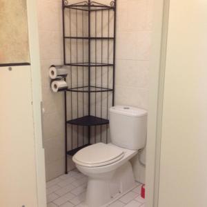 A bathroom at Hotel Amar