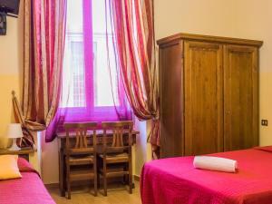 Кровать или кровати в номере Hotel Hermes