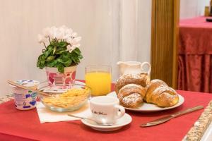 Завтрак для гостей Hotel Hermes