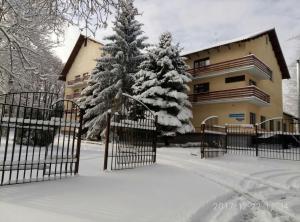 Гостиница Динамо зимой