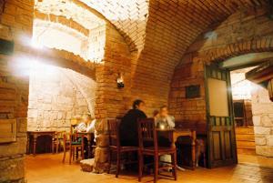 Restaurace v ubytování Novopacké Sklepy