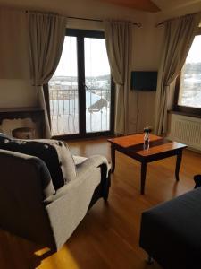 Posezení v ubytování Villa Vinica