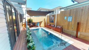 The swimming pool at or near Luxury Accessible Homes