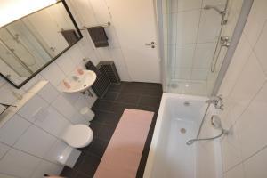 Ein Badezimmer in der Unterkunft Madame Tower