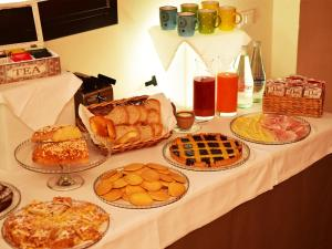 Breakfast options available to guests at Principessa Pio