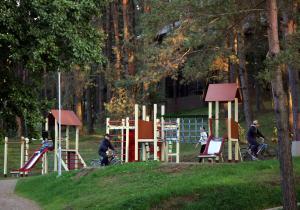 Children's play area at Vila Kelmyne