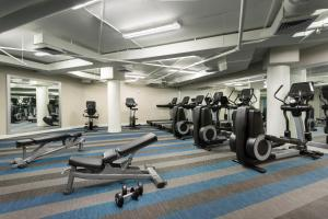 The fitness center and/or fitness facilities at The Gates Hotel South Beach - a Doubletree by Hilton