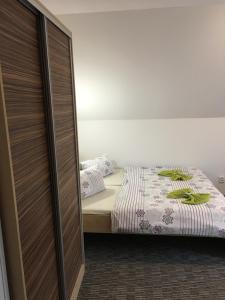 Postel nebo postele na pokoji v ubytování Penzion 103