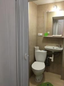 Koupelna v ubytování Penzion 103
