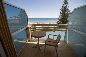 A balcony or terrace at Hotel Garden Lido