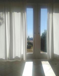 Vista generica dall'interno della casa vacanze