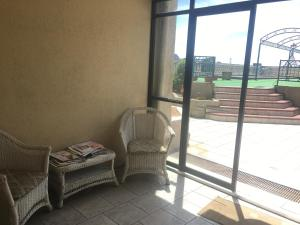 A seating area at Apart hotel Lincoyan