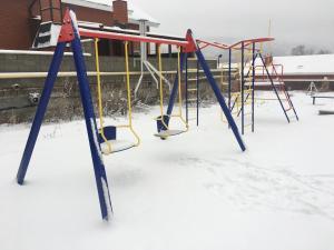"Children's play area at Таунхаус ""Белый филин"" класса Люкс 130 м2"