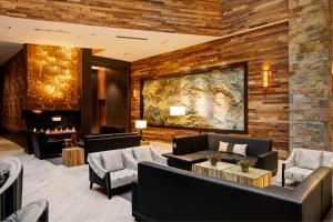 A seating area at Archer Hotel Napa