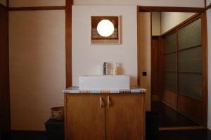 マコモにあるバスルーム