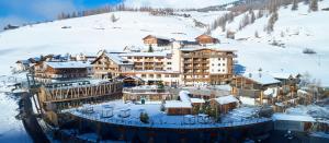 Hotel Fanes im Winter