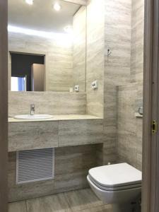 Ванная комната в Отель Монблан